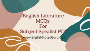 english literature questions and answers pdf