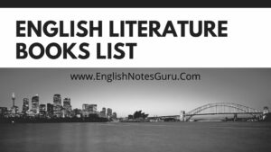 15 Best Books For History of English Literature