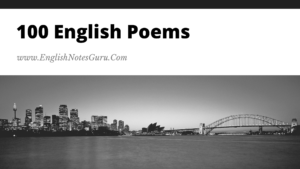 Top 100 Most Famous Poems In English Literature