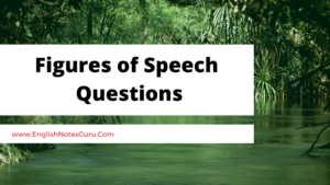 Top 50 Questions on Figures of Speech in English