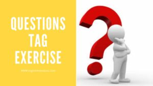 Questions Tag Exercise With Answers PDF