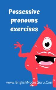 Demonstrative Pronouns Exercises