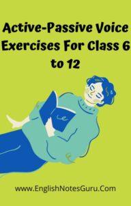 Active-Passive Exercises